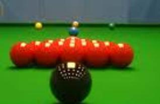 Two full-sized snooker tables with lighting